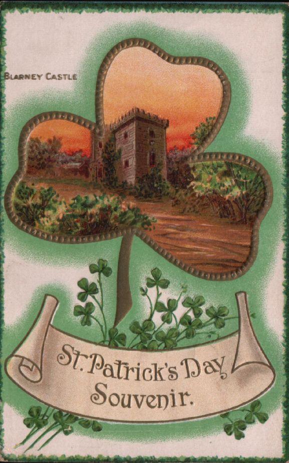 St Pat Blarney castle front