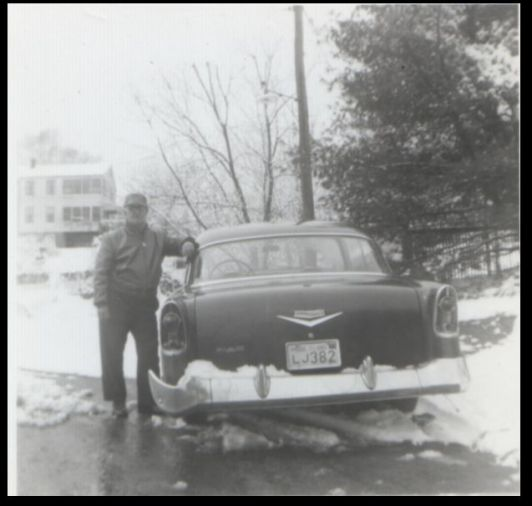 Lionel in snow