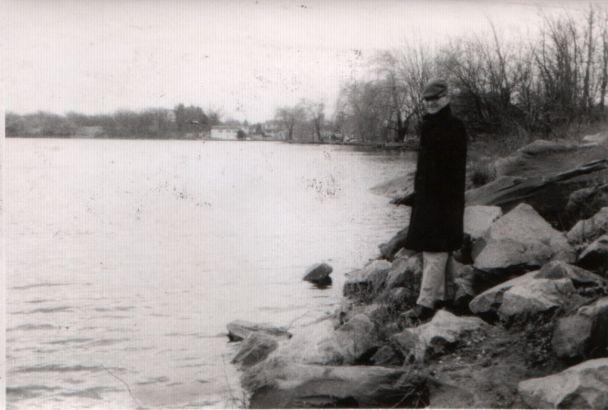 David at pond