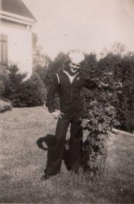 David dark sailor suit