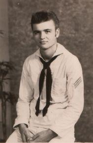 David white sailor suit